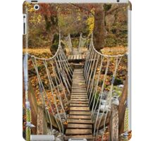 """Autumnal crossing on the """"Path of Love"""" iPad Case/Skin"""