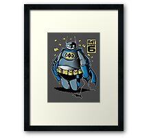 BAT HERO 6 Framed Print