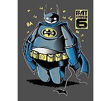 BAT HERO 6 Photographic Print