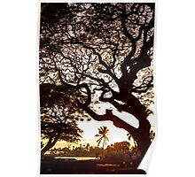 Downtown Kailua - Kona, Hawaii Poster