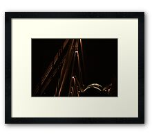 A View from a Bridge Framed Print