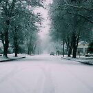 snow lane by MorganAshley