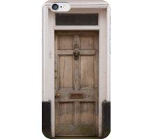 Old Door, Orange Wall iPhone Case/Skin