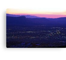 Early Morning Grand Junction, CO Canvas Print