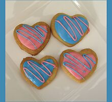 Valentine Cookies by tali
