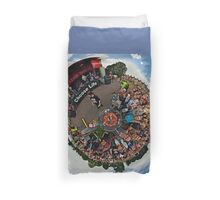 Teenage kicks - The Undertones play Brooke Park Duvet Cover
