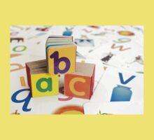 Alphabet Blocks Baby Tee