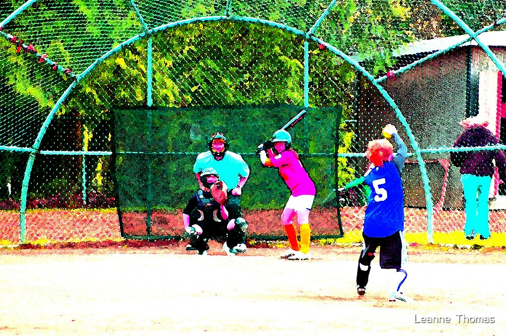 Batter Up! by Leanne  Thomas