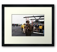 Future Leaders of the Navy  Framed Print