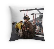 Future Leaders of the Navy  Throw Pillow
