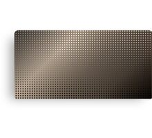 Abstract Rusty Grid Background Canvas Print