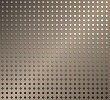 Abstract Rusty Grid Background by gruml