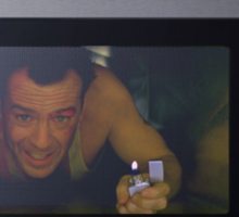 TV Dinner - Die Hard Sticker