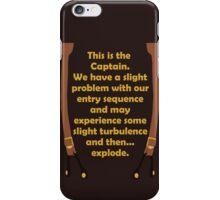 Slight Turbulence iPhone Case/Skin