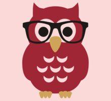 Geek nerd owl One Piece - Short Sleeve