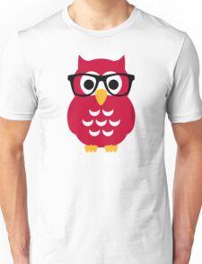 Geek nerd owl Unisex T-Shirt