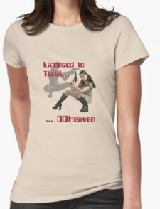 Licensed to Thrill Womens Fitted T-Shirt