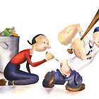 How Popeye Got His Muscles by Chava  Light