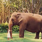 My big friend by Maria Paola R
