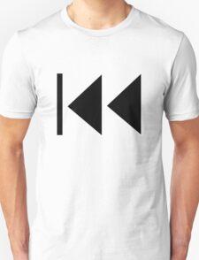 Rewind Button Unisex T-Shirt