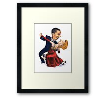 Tango Politico Framed Print