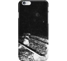 Alone night film grain #2 iPhone Case/Skin