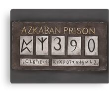 Azkaban Prison Canvas Print