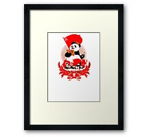 China Propaganda - Panda Framed Print