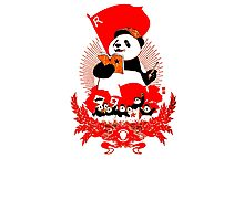 China Propaganda - Panda Photographic Print