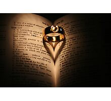 Wedding Rings Photographic Print
