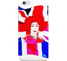 Is the Queen Japanese? iPhone Case/Skin