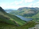 Buttermere and Crummock Water by John Keates