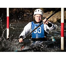 S&S Canoe Club | Div 3&4 Slalom | March 2015 | 027 Photographic Print