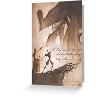The Tale of Three Brothers Greeting Card