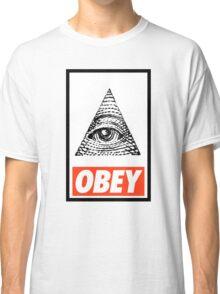 Obey the Illuminati Classic T-Shirt