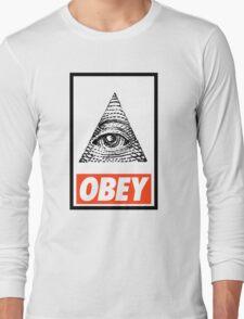Obey the Illuminati Long Sleeve T-Shirt