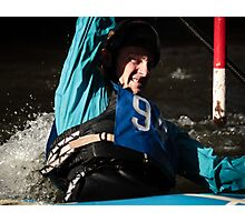 S&S Canoe Club | Div 3&4 Slalom | March 2015 | 028 Photographic Print