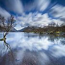 Llyn Padarn Lake, Llanberis, Snowdonia by Celtic Mystery