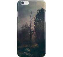 Home is where the fog is iPhone Case/Skin