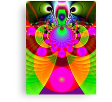 Alien insect Canvas Print