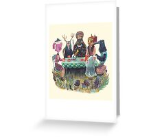 The art of ruining conversation at parties Greeting Card