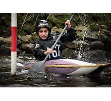 S&S Canoe Club | Div 3&4 Slalom | March 2015 | 037 Photographic Print