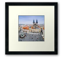 Old Town Square, Prague, Czech Republic Framed Print