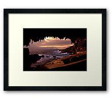 Admirals Arch Framed Print