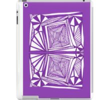 Purple Pattern Proposed 4 Picture Portal iPad Case/Skin
