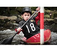 S&S Canoe Club | Div 3&4 Slalom | March 2015 | 049 Photographic Print