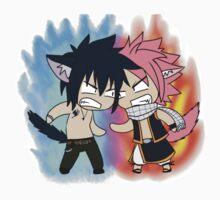 Natsu and Gray (chibi) Kids Clothes