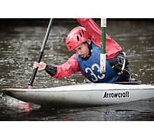 S&S Canoe Club | Div 3&4 Slalom | March 2015 | 055 Photographic Print