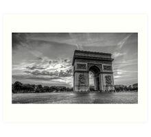Arc De Triomphe 6 Art Print
