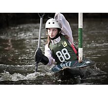 S&S Canoe Club | Div 3&4 Slalom | March 2015 | 060 Photographic Print